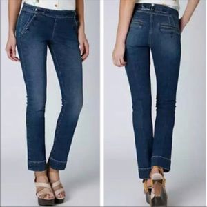 Pilcro Sailor Waist Skinny Jeans By Anthro